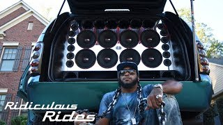 Deafening Bass-Mobile Boasts 62 Speakers | RIDICULOUS RIDES