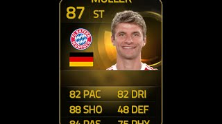 FIFA 15 IF MULLER 87 Player Review & In Game Stats Ultimate Team