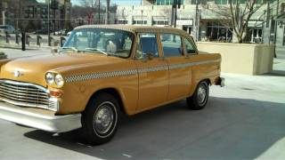 1982 Checker Marathon Taxi Cab [SOLD]