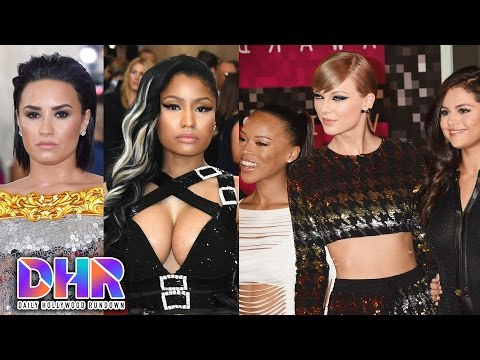 Demi Lovato Responds To Nicki Minaj's Shade, Taylor Swift's Girl Squad In Trouble?! (DHR)