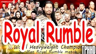 WWE Royal Rumble Match 2016 | 30 Man Battle Royal