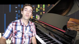 IMPOSSIBLE REMIX - Name This Song (YIAY 435) - jacksfilms - Piano Cover