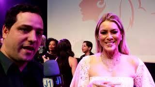 troféu mulher imprensa entrevista  com Renata Fan