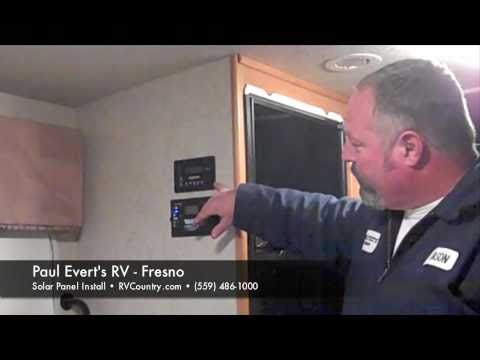 RV Solar Panel Install with Technician