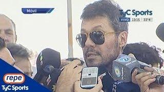 Marcelo Tinelli, vice de San Lorenzo campeón, viajó al Vaticano para visitar al Papa Francisco