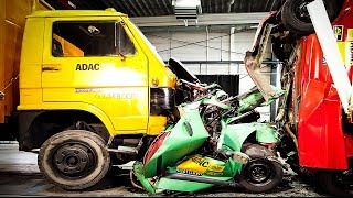 CRASHES - Car VS Truck - INSANE Interior Crash Tests Accident || SAFETY MUST SEE
