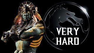 Mortal Kombat X - Kotal Kahn (Sun God) Klassic Tower (VERY HARD) NO MATCHES LOST