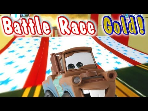 Disney Infinity Mater Gameplay - Battle Race First Place GOLD!