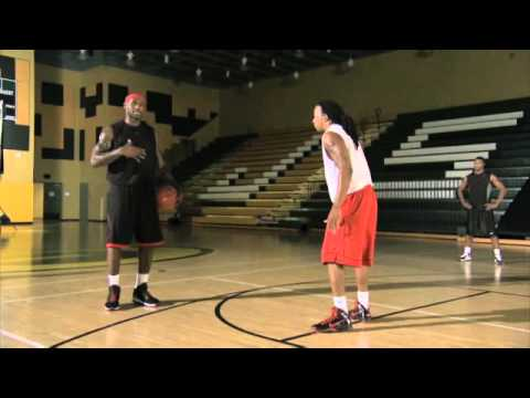 LeBron James - Signature Moves - Dribble jab - 2010