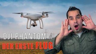 DJI Phantom 4 #04 - Der Erste Flug