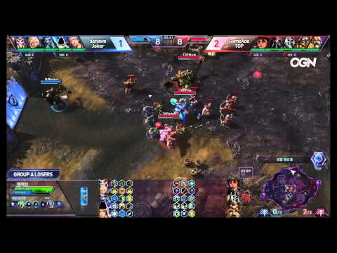 Jokers vs. TOP - Game 4 - Ro8 Group A Losers Match - Heroes of the Storm Super League 2015