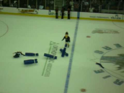 Lake Erie Monsters - Human Bowling Video