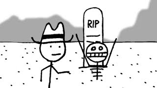 HELLO, SIR! HOW IS BEING DEAD?   West of Loathing - Part 2