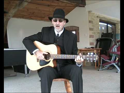 Blues acoustic guitar lessons - Love In Vain - Robert Johnson Cover