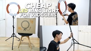 CHEAP LED Ring Light 2019! + Unboxing & Demo | Maverick Del Mundo