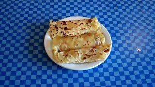 خبز (الملاوي) التونسي الرقاق - Mlawi - Pain Tunisien Malawi - Mléoui