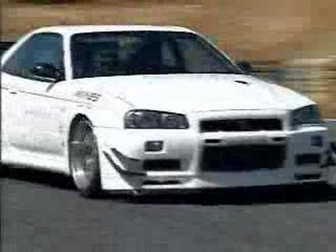 Mine's Skyline R34 GTR Video