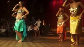 Hot Girls Doing Samba belly Dance