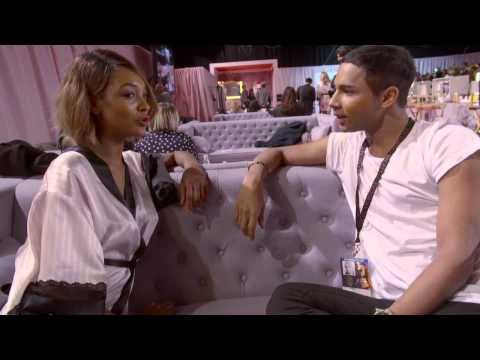 Victoria's Secret: Olivier Rousteing meets Jourdan Dunn