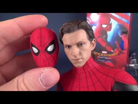UNBOXING | Hot Toys Spider-man Homecoming Spider-man Sixth Scale Figure thumbnail