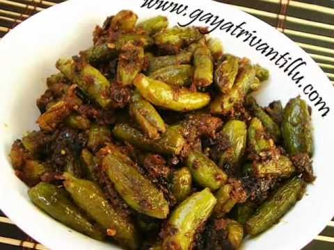 Andhra Recipes - Dondakaya Ullikaram - Ivy Gourd in Onion Masala