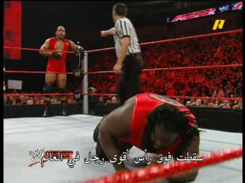 The Miz And Big Show Vs. Mvp And Mark Henry video