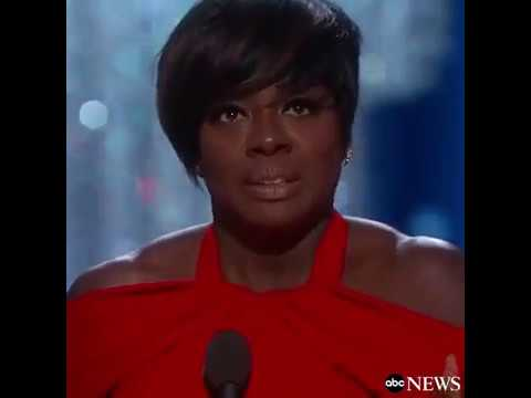 Viola Davis Oscars Acceptance Speech for 'Fences' | Oscars 2017