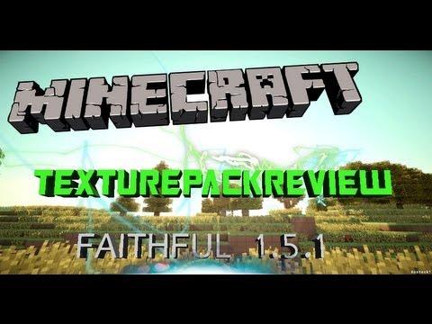 Minecraft Texturepackreview #02 |Faithful 1.5.1  GERMAN-FULL HD |