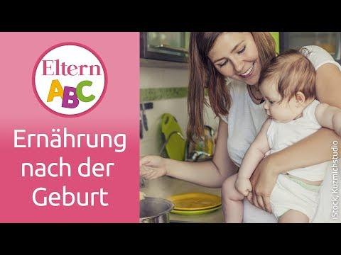 Ernährung nach der Geburt: Wie soll ich mich ernähren? | Schwangerschaft | Eltern ABC | ELTERN