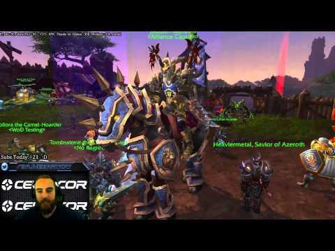 Warlords of Draenor (Beta): Captain Jackson Bajheera is AWESOME! :D