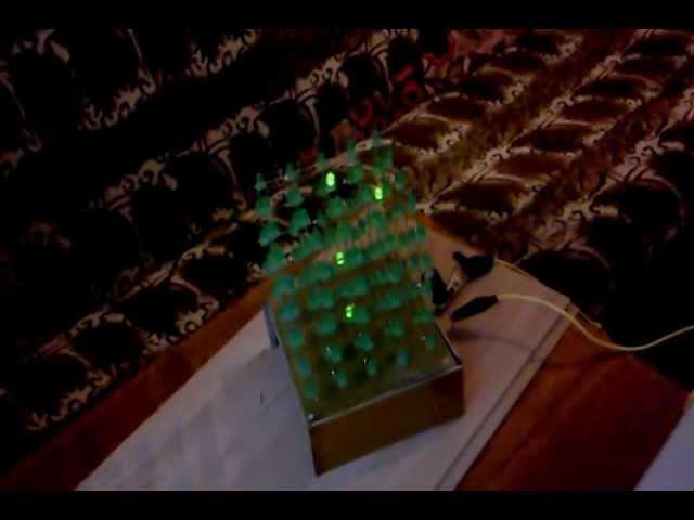 куб 5х5х5 (Led cube 5x5x5)