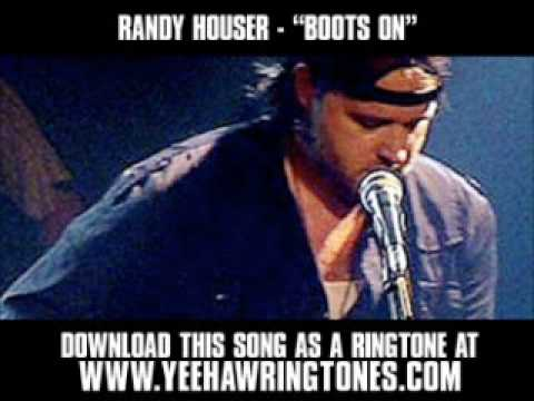 Randy Houser - Boots On [ New Video + Lyrics + Download ]