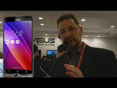 Asus ZenFone 2 telefonas. Pirmas įspūdis. MWC 2015. © Poryt.lt