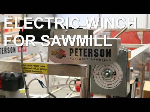 Peterson Sawmills Electric Winch
