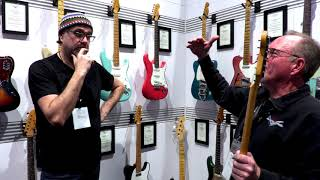 What's New from the Fender Custom Shop with Mike Lewis  •  NAMM 2018