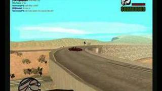 GTA SA-MP StreetDrifting Bloopers
