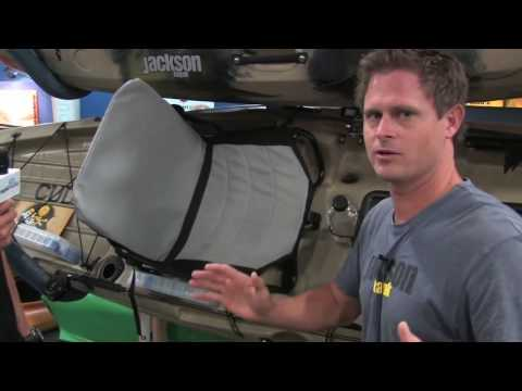 Jackson Kayak Fishing - Drew Gregory models the Cuda and Big Tuna