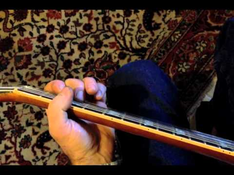How to play lead break solo to My Baby Left Me by Elvis and Scotty Moore