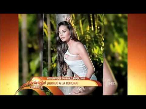Dalia Fernandez Miss Republica Dominicana Universe 2011 en Levantate (1)