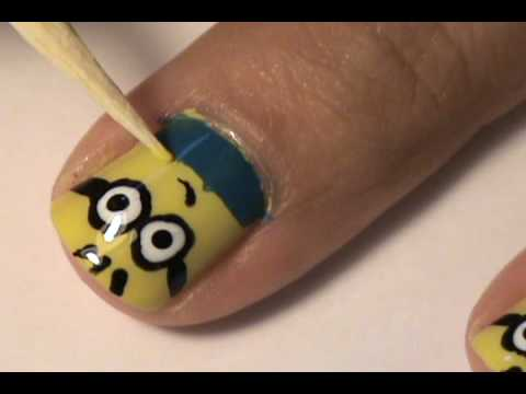 Despicable Me nail tutorial