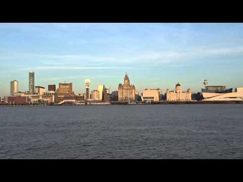 Liverpool Pier Head and the Three Graces