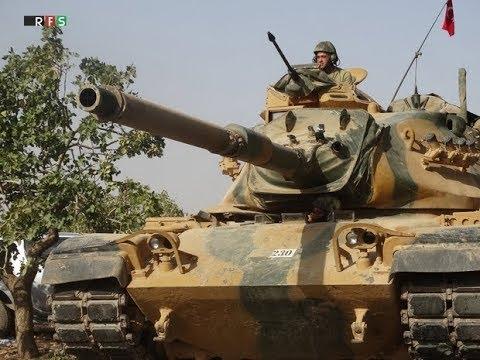 BREAKING 2018 ISLAMIC Turkey WAR on USA backed KURDS in Syria Update 2018 News