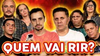 NÃO PODE RIR! - com DUBLADORES (Wendel Bezerra, Úrsula Bezerra, Cecília Lemes e Wellington Lima)