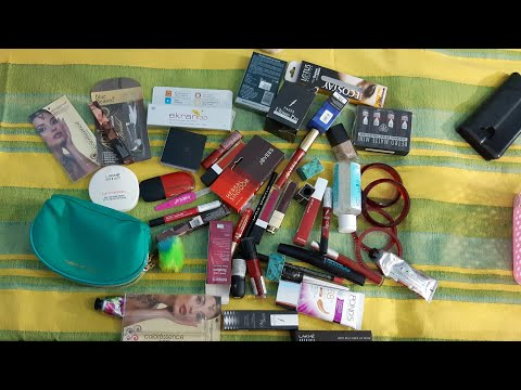 Huge nykaa haul | mall shopping | new launch products | karwachauth special shopping | red colour |