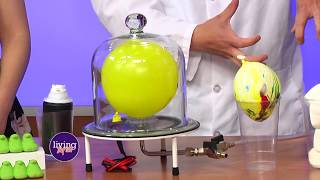 Vacuum Pump - Peeps, Marshmallows, and Balloons | Mister C TV