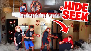2HYPE HAUNTED HOUSE HIDE AND SEEK!