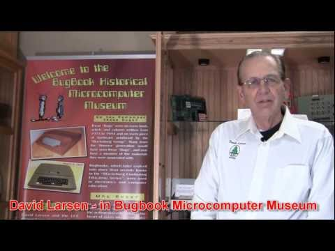David Larsen KK4WW & N4USA in Bugbook Microcomputer Museum