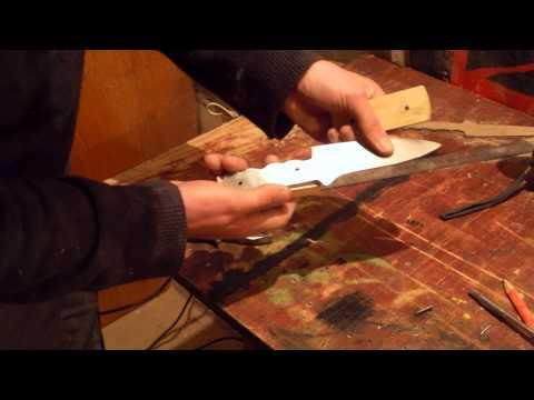Нож из дисковой пилы своими руками