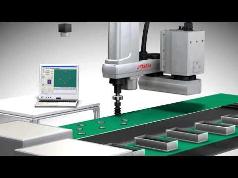SCARA ROBOT & VISION SYSTEM PV [YAMAHA]