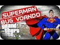 GTA 5 PC - Bug Voando! Carro do Superman Militar!